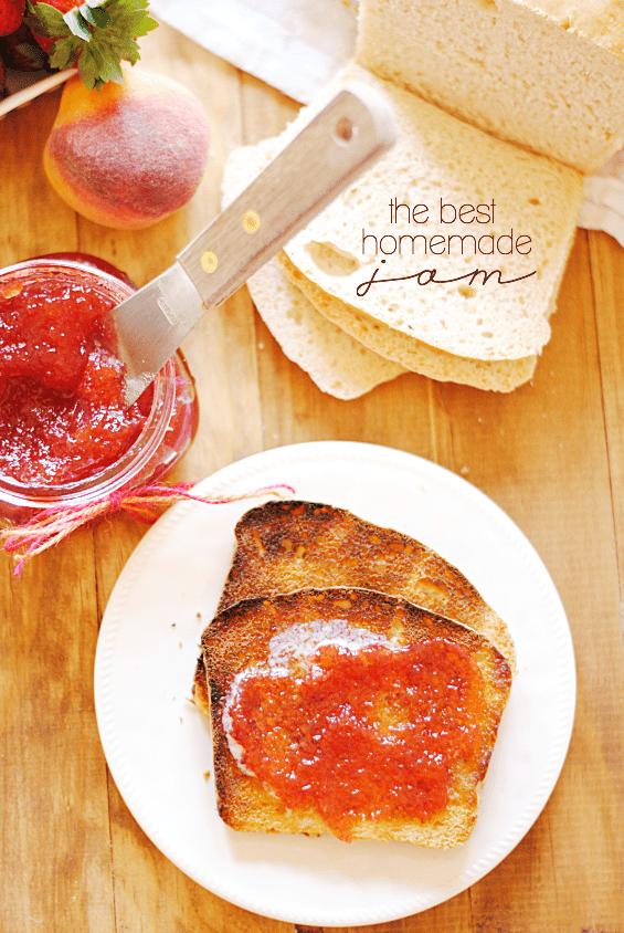 Best Homemade Jam | www.somethingswanky.com
