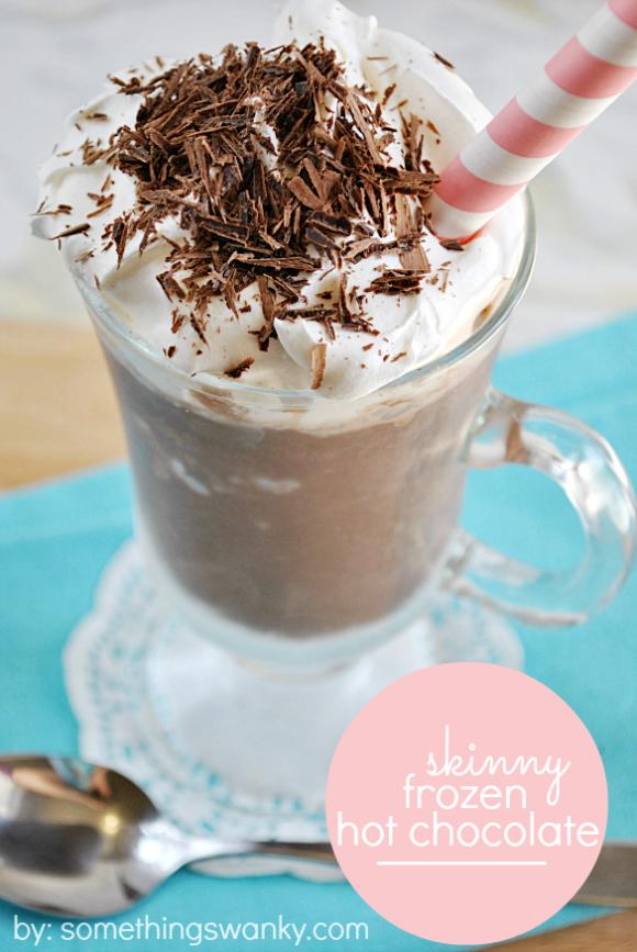 Skinny Frozen Hot Chocolate