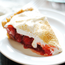 Strawberry Pie | www.somethingswanky.com