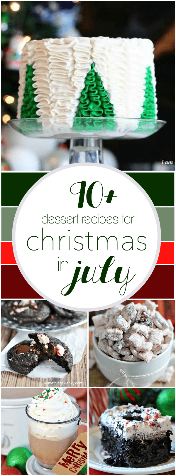 90+ Recipes for Christmas in July   www.somethingswanky.com