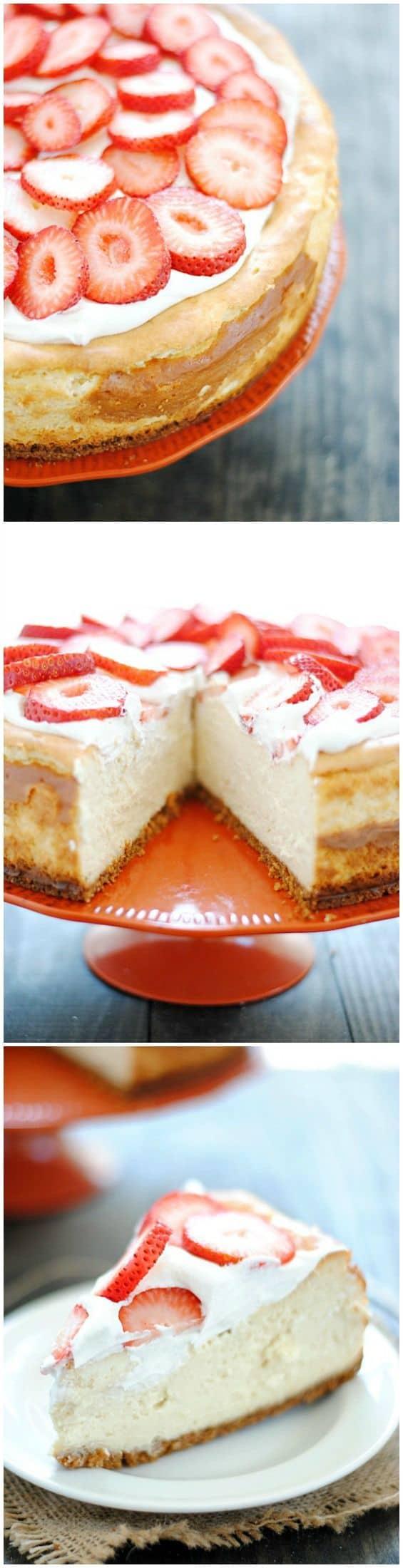 New York-Style Cheesecake   www.somethingswanky.com