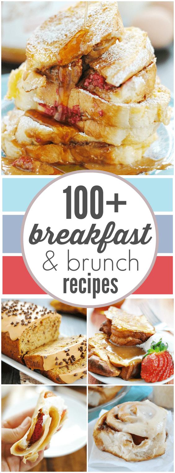 100+ Breakfast & Brunch Recipes | www.somethingswanky.com