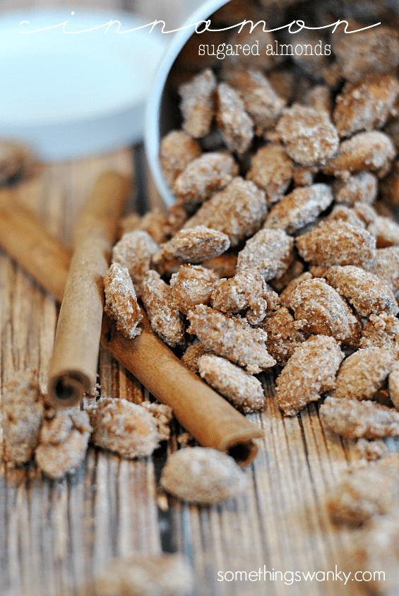 Cinnamon Sugared Almonds