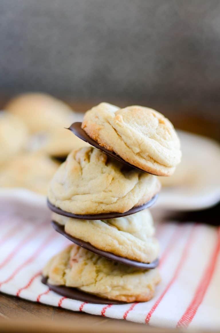Black Bottom Butterscotch Cookies