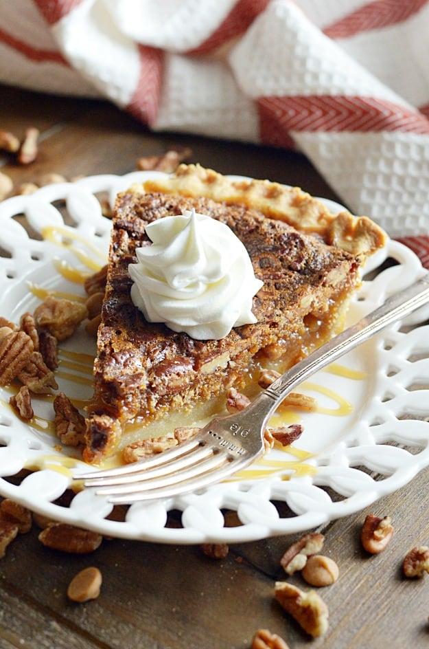 Butterscotch Pecan Pie