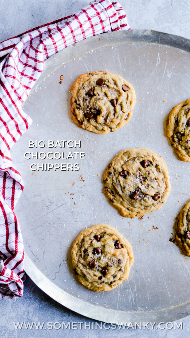 Big Batch Chocolate Chippers