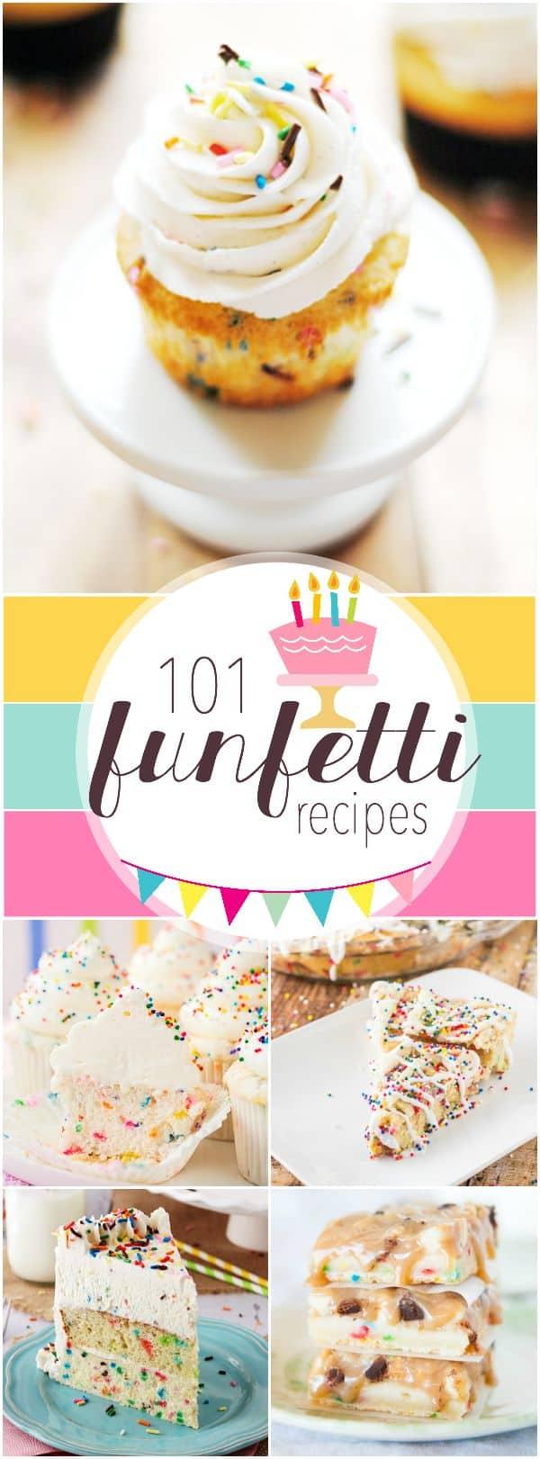 101 Funfetti Recipes