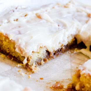 Cinnamon Roll Sheet Cake