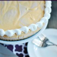 No Bake Cinnamon Swirl Pumpkin Cheesecake