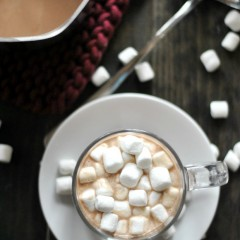 Homemade Hot Chocolate has never been easier or more delicious! Quickly made on the stovetop for hot chocolate in just a few minutes.