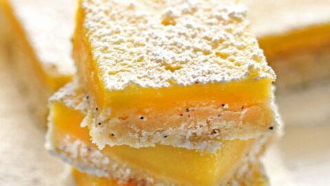 Lemon Poppy Seed Bars 1
