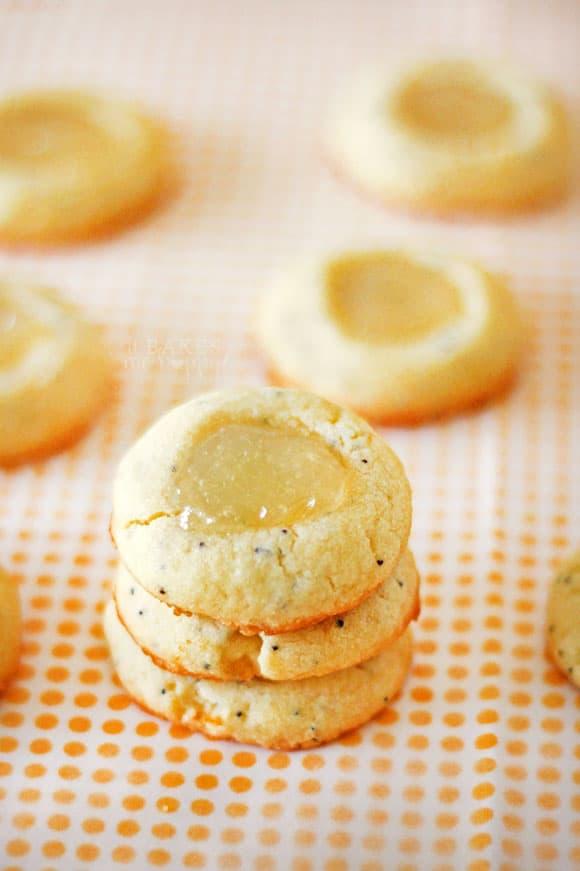 Lemon Poppy Thumbprints
