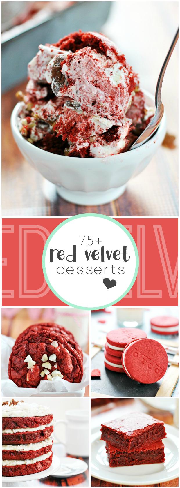 75+ Red Velvet Desserts