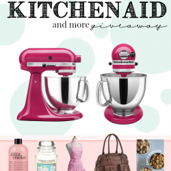 Win a KitchenAid! 5 great prizes for 5 winners!
