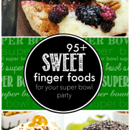 95+ Sweet Bite Sized Treats that are perfect for your super bowl party this year!