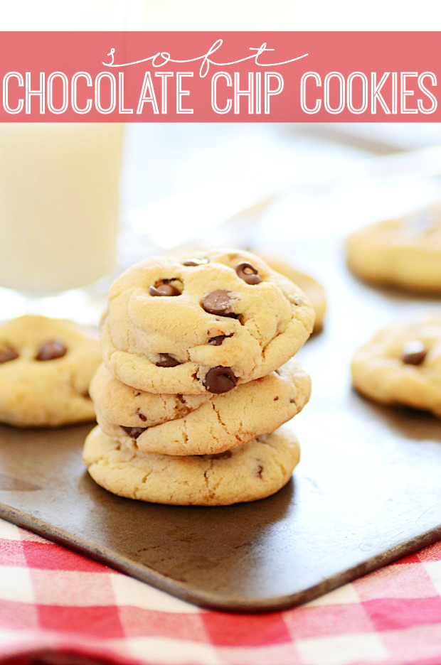 Super soft chocolate chip cookies that everybody will love!