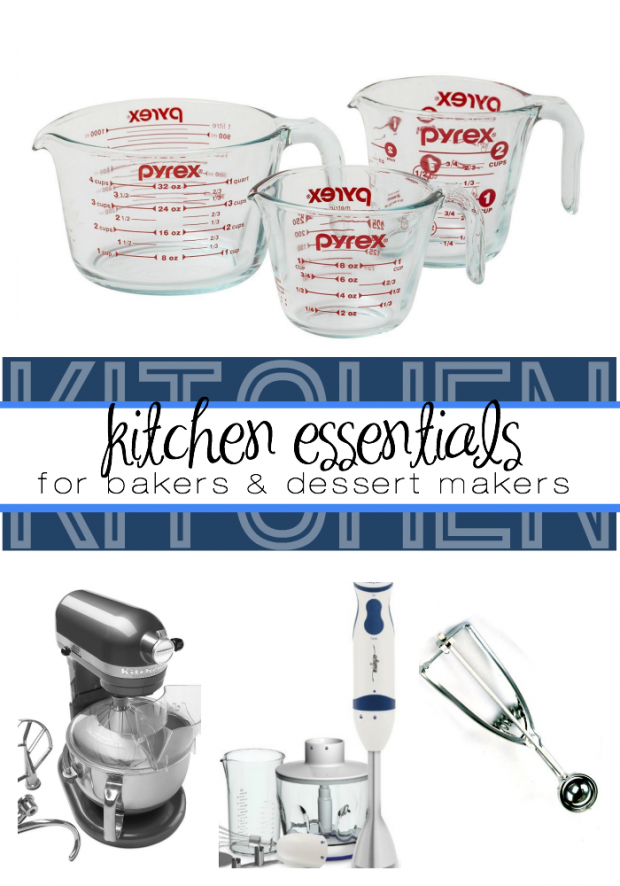 Kitchen essentials for bakers and dessert makers!