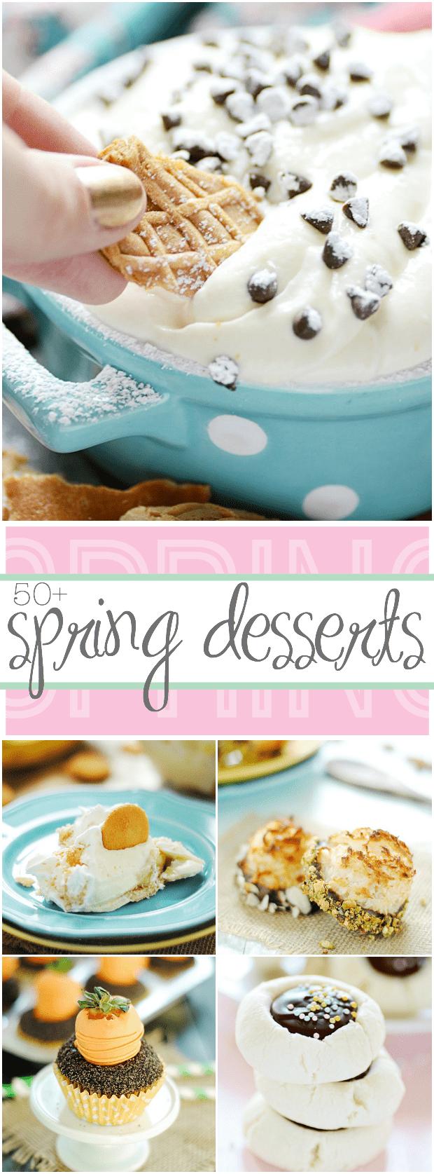 50+ Spring Time Desserts