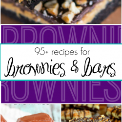 95+ Recipes for Brownies and Bars