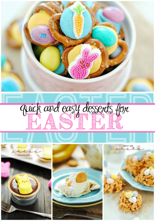 Quick and Easy Easter Desserts