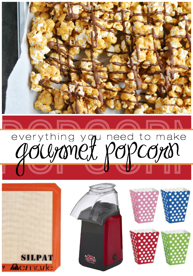 Everything you need to make gourmet popcorn at home!