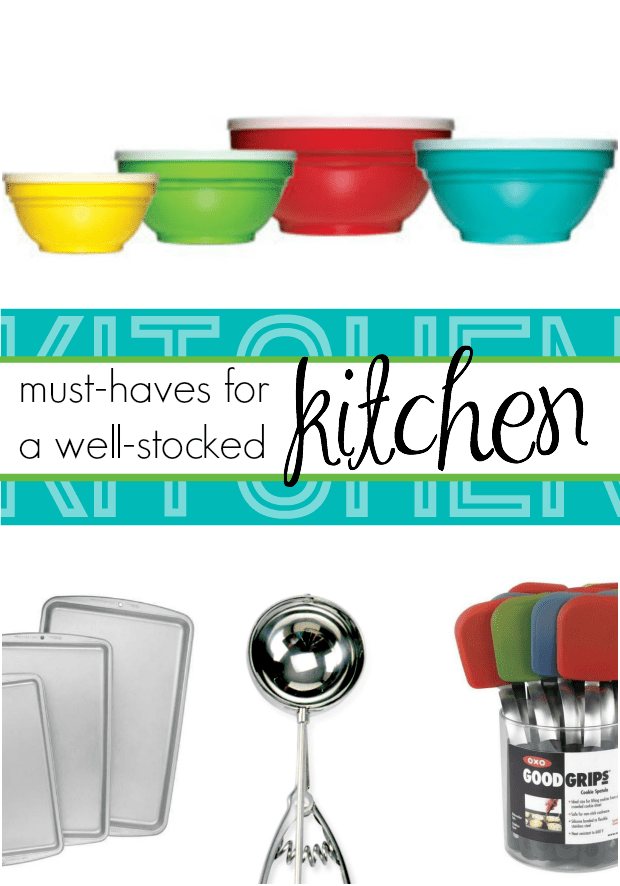 Must-haves for a well-stocked Kitchen!