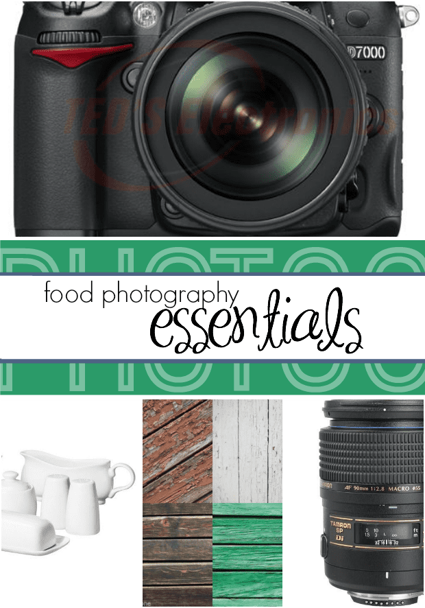Must haves for food photographers!