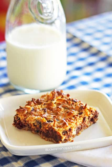 Bakery Style 7 Layer Bars