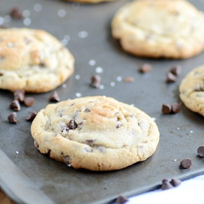 These chocolate chip cookies are the best I've tasted yet! Buttery crispy around the edges, but soft and chewy in the middle. Perfection!
