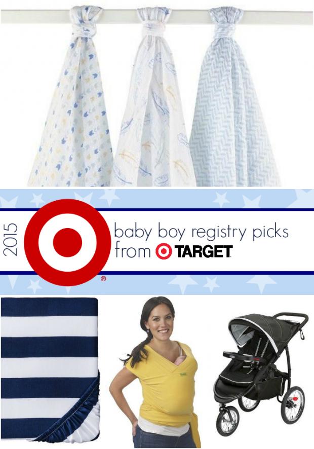 Favorite 2015 Baby Boy Registry Picks at Target