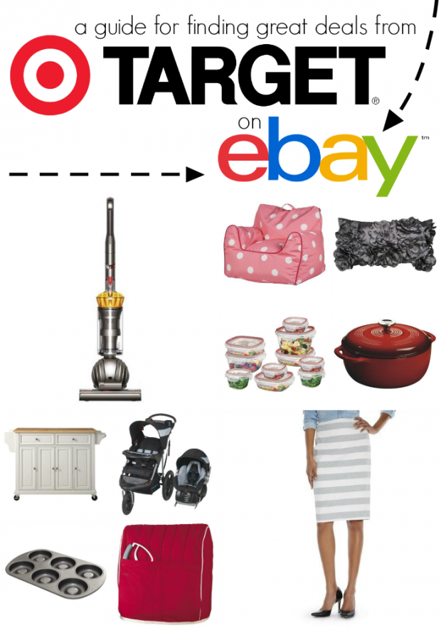 Did you know that you can score great Target deals on eBay?! Find out how!