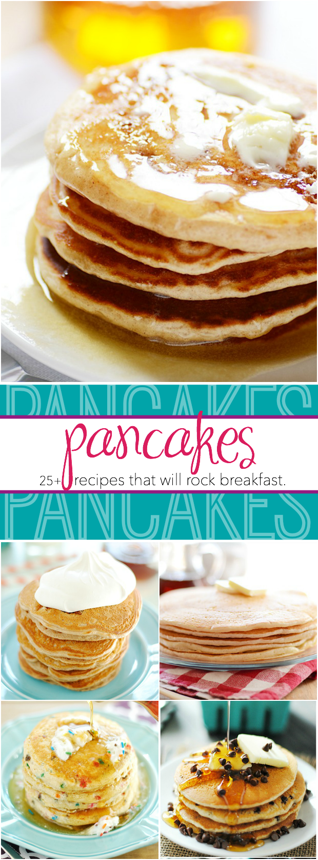25+ Pancake Recipes that will rock your breakfast!