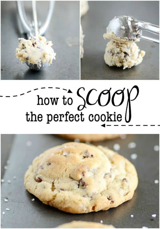 How to scoop the perfect cookie every time.