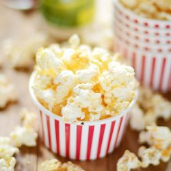 This Buffalo Ranch Popcorn is so good, it was featured in O Magazine!