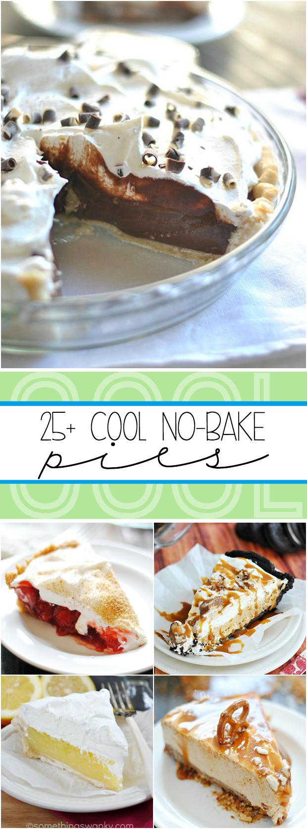 25+ No Bake Pie Recipes