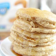 Soft & Fluffy Whole Wheat Pancakes @lovemysilk