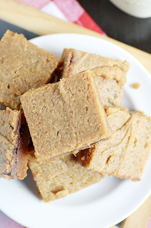 Simple PB&J Lunchbox Bars | back to school