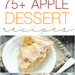 75+ Apple Dessert Recipes