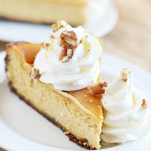 Cheesecake Factory Pumpkin Cheesecake Copycat Recipe