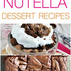 More than 75 Nutella Dessert Recipes!