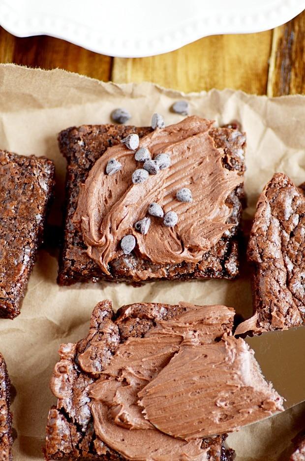 3-Ingredient Nutella Brownies
