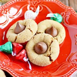 Gingerbread Blossom Cookies