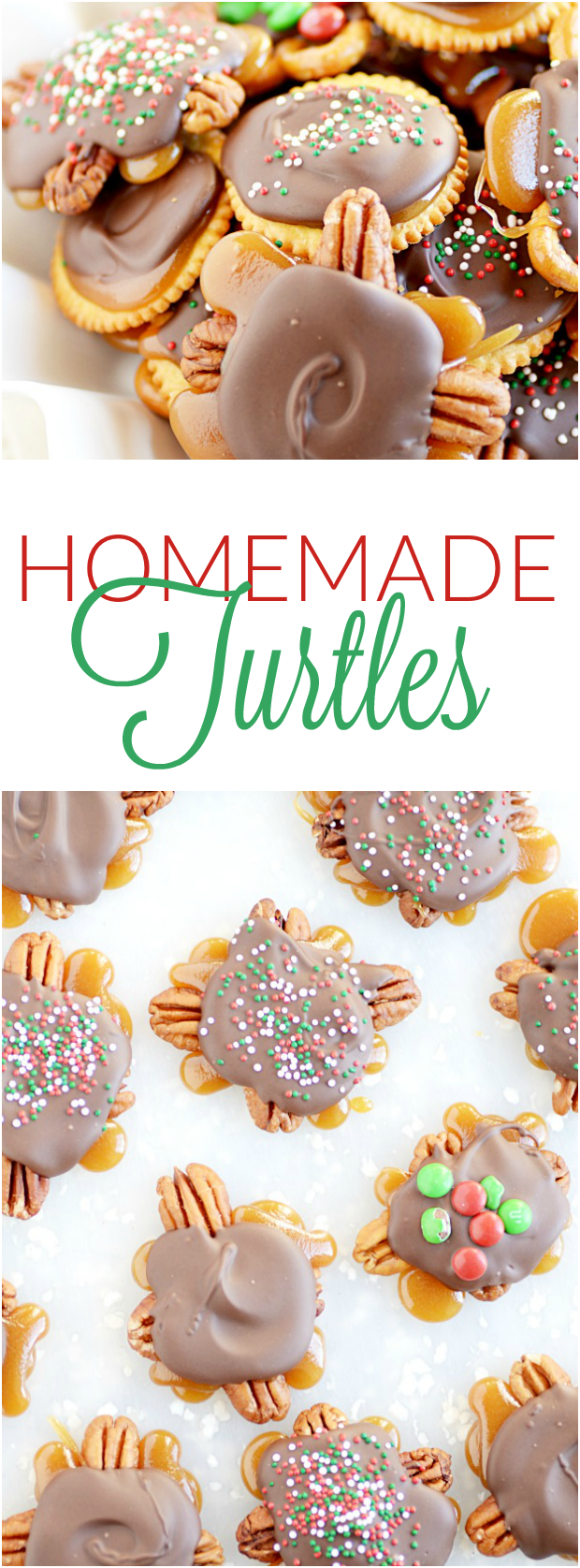 Homemade Turtles. Don't be scared. If I can do it, you can do it!