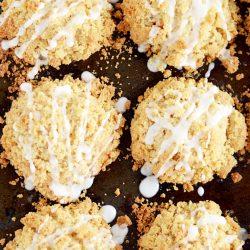 Buttermilk Cinnamon Crumble Muffins recipe