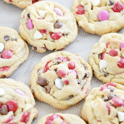 Soft Batch M&M Pudding Cookie recipe