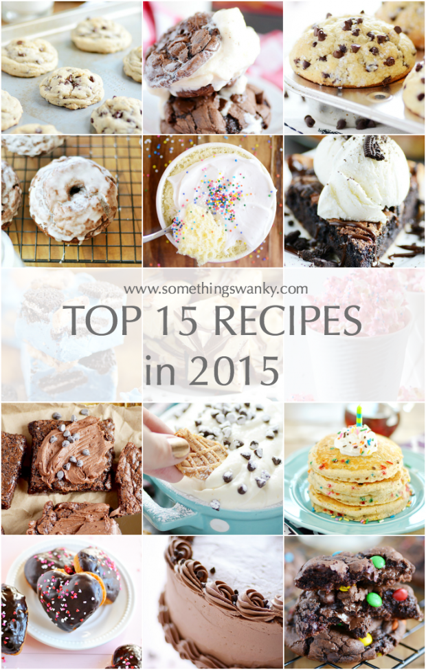 Top 15 Recipes in 2015