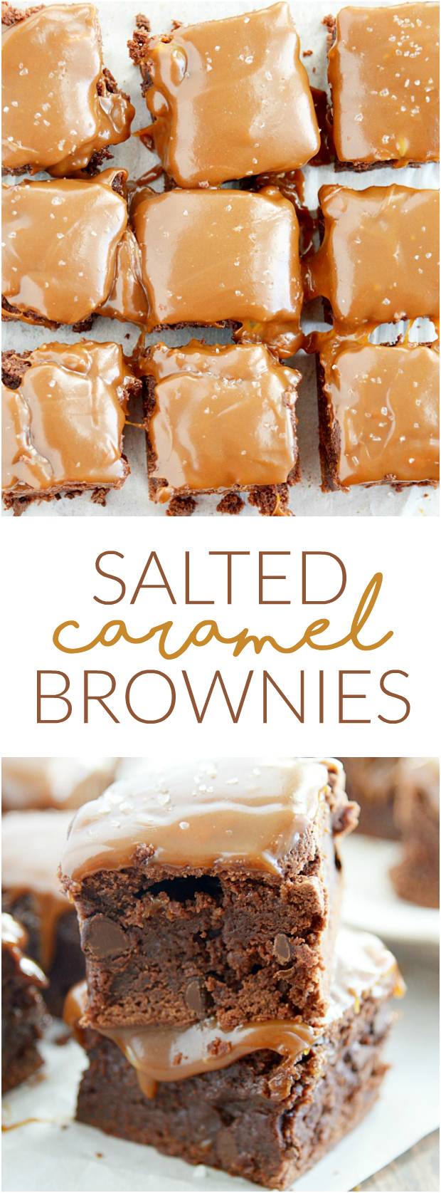Salted Caramel Brownies Recipe Something Swanky