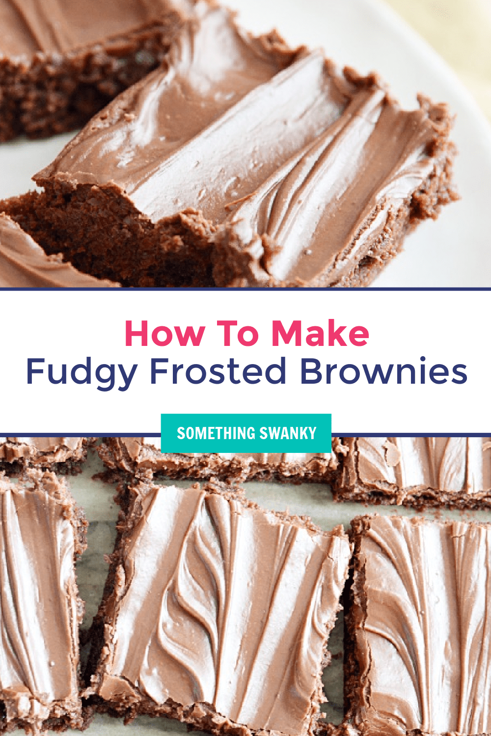 Fudgy Frosted Brownies Recipe