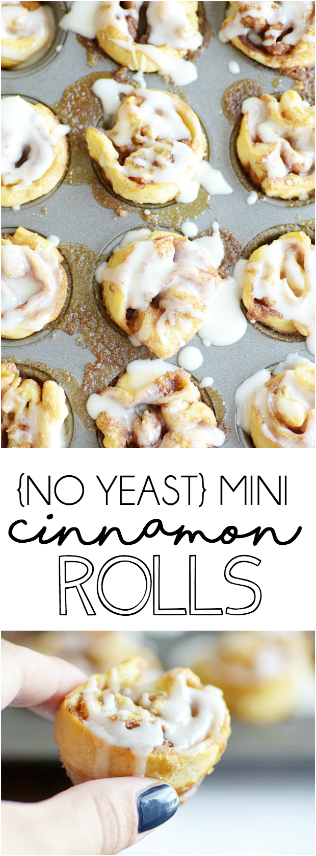 These melt in your mouth cinnamon rolls couldn't be easier thanks to refrigerated crescent roll dough!