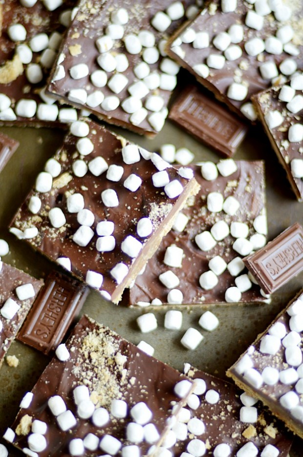 recipe: chocolate crack graham crackers [28]